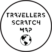 Traveller's Scratch Map